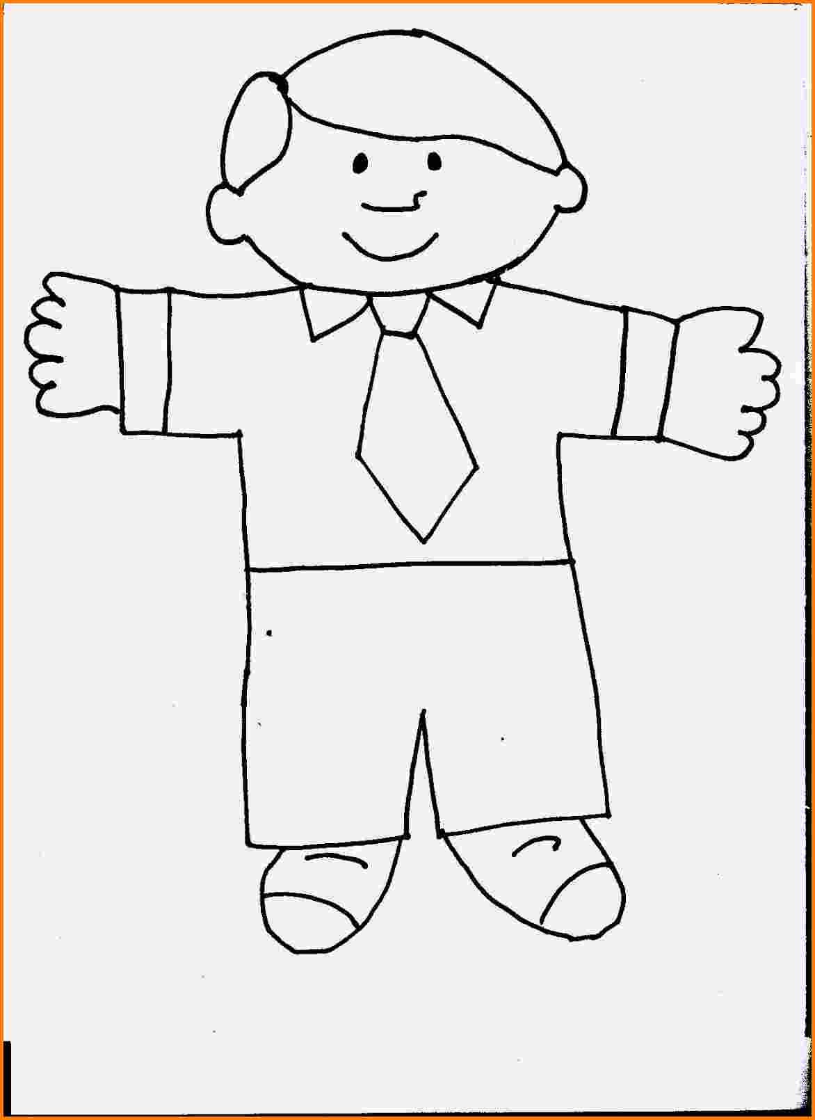 1172x1610 Flat Stanley Template Cashier Resume