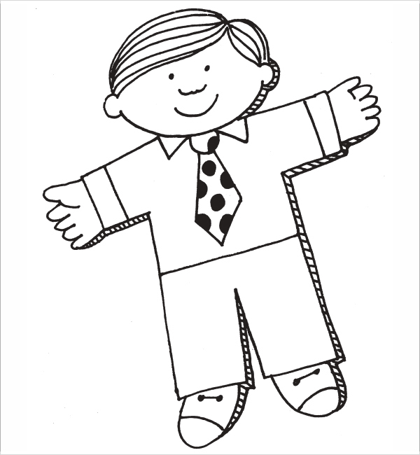 600x650 Appealing Flat Stanley Coloring Page 68 About Remodel Coloring