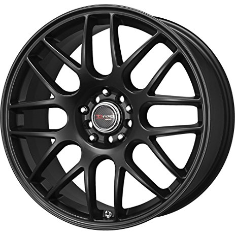 463x463 Drag Wheels Dr 34 18x8 5x100 5x114.3 Et35 Flat Black