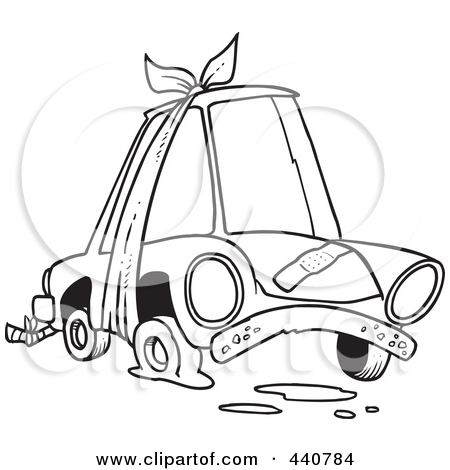 450x470 Flat Tire Clipart Black And White