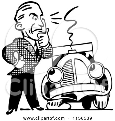 450x470 Royalty Free (Rf) Clipart Illustration Of A Flustered Man Jacking