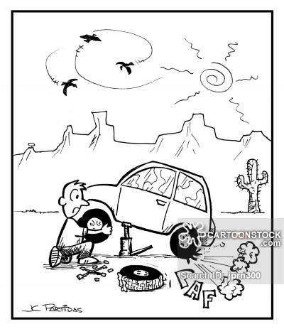 400x470 Spare Wheel Cartoons And Comics