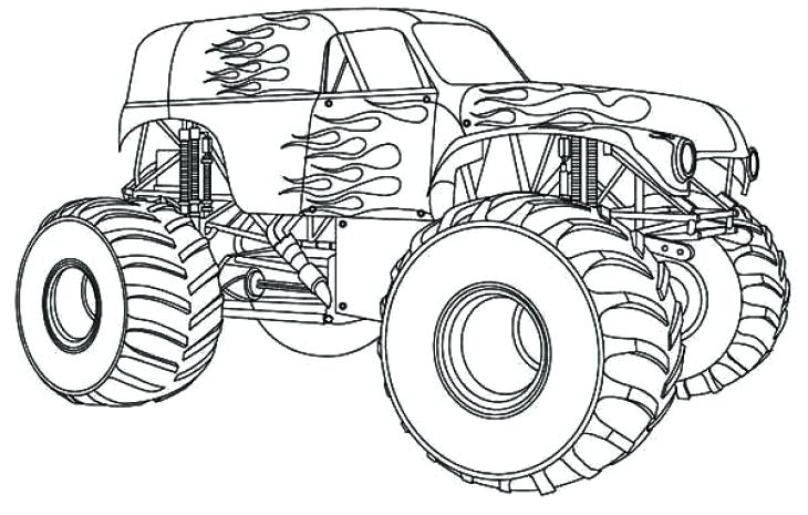 730x465 Free Printable Truck Coloring Pages Genesisar.co