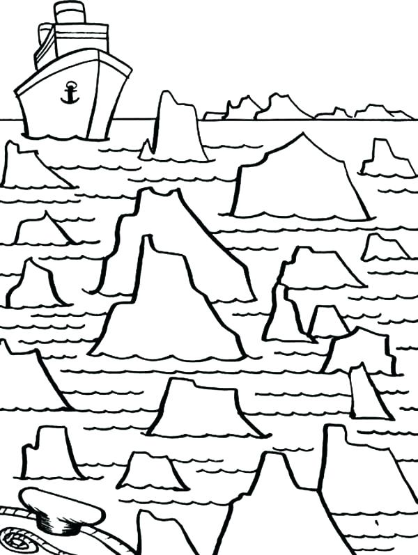 600x797 Catfish Coloring Page Coloring Pages Iceberg Iceberg Maze For Big