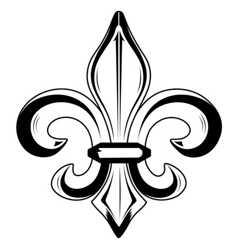 476x500 Strepik Fleur De Lis Tattooforaweek Temporary Tattoos Largest