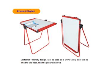 350x237 U Shape Flip Chart Drawing Board