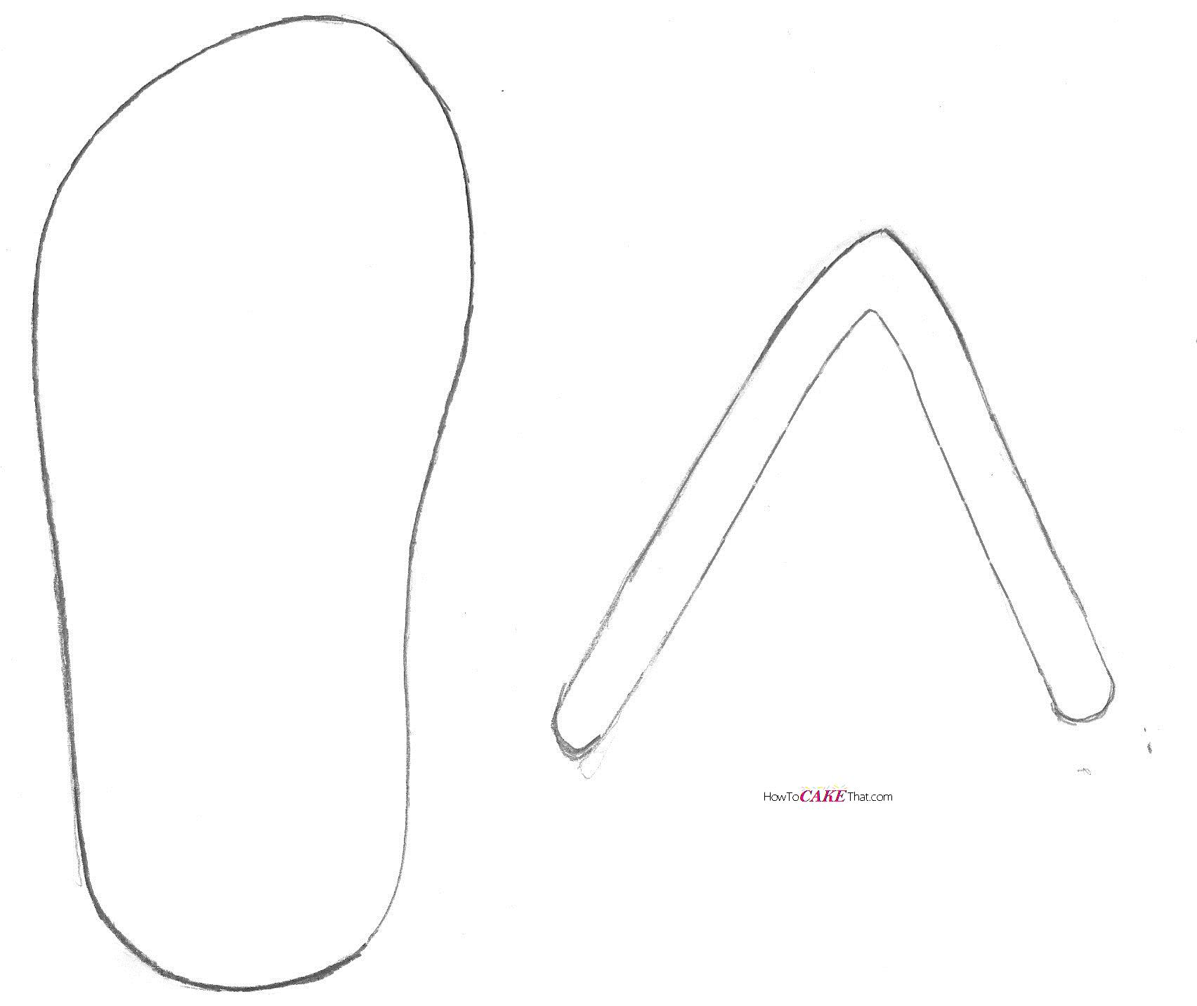 Flip Flop Drawing at GetDrawings.com | Free for personal use Flip ...