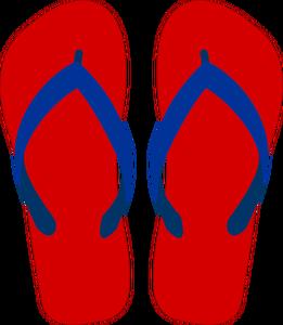 Flip Flops Drawing