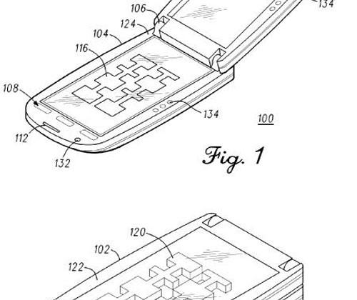 500x420 Motorola Patent App Turns Up Showing 3d Image Rendering Flip Phone