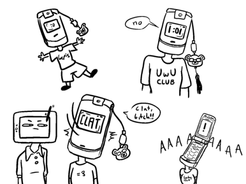 500x375 Hhhhi Love Flip Phones Tumblr