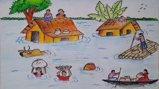 320x180 Learn How To Colour A Flood With Oil Pastel By Marhanim Music Jinni