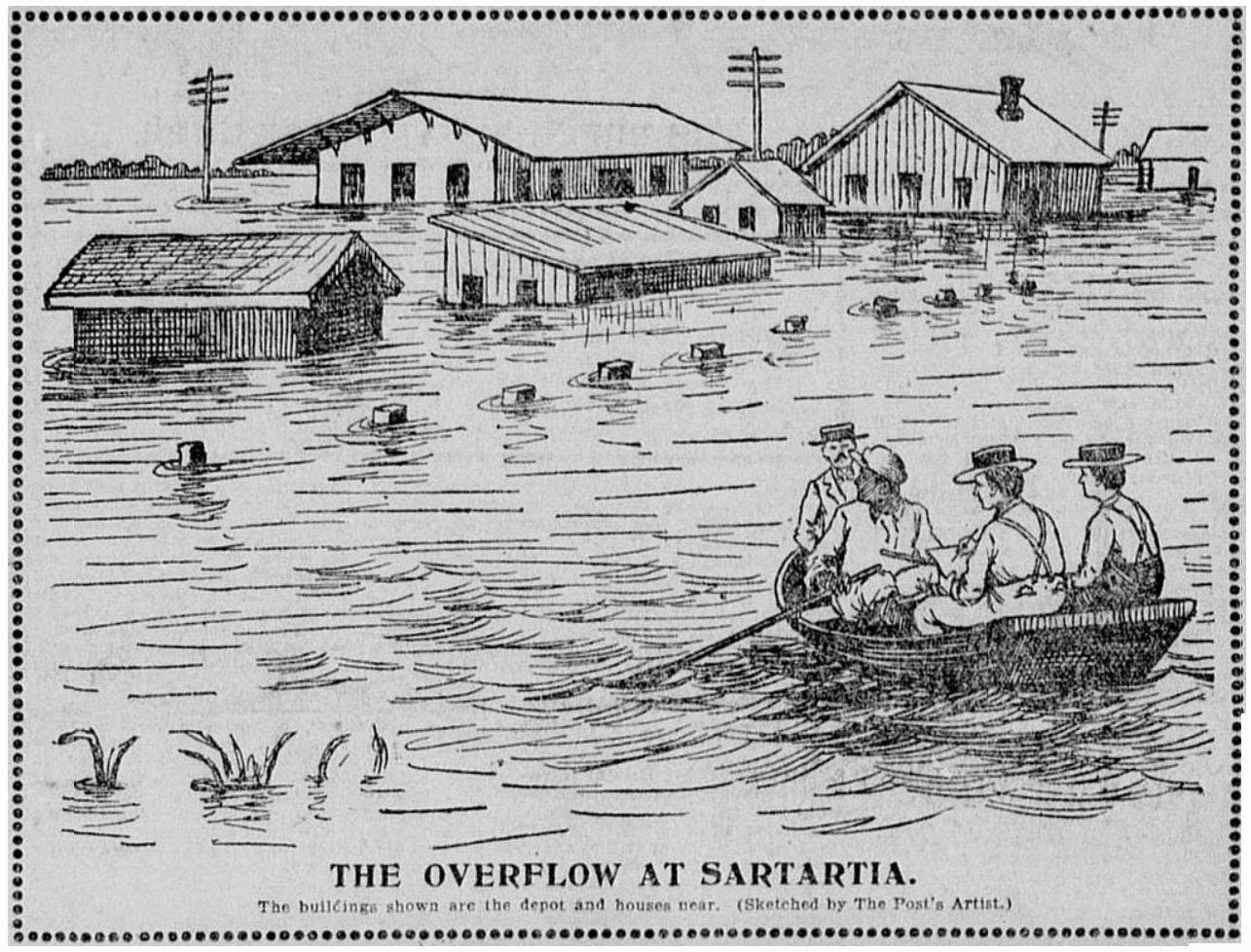 1285x978 The Old Sugar Land Club House 1899 Flood