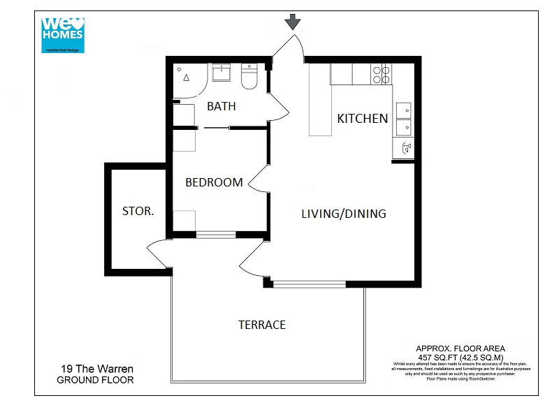 Floor plan drawing at free for personal for Easy to use house plan drawing software