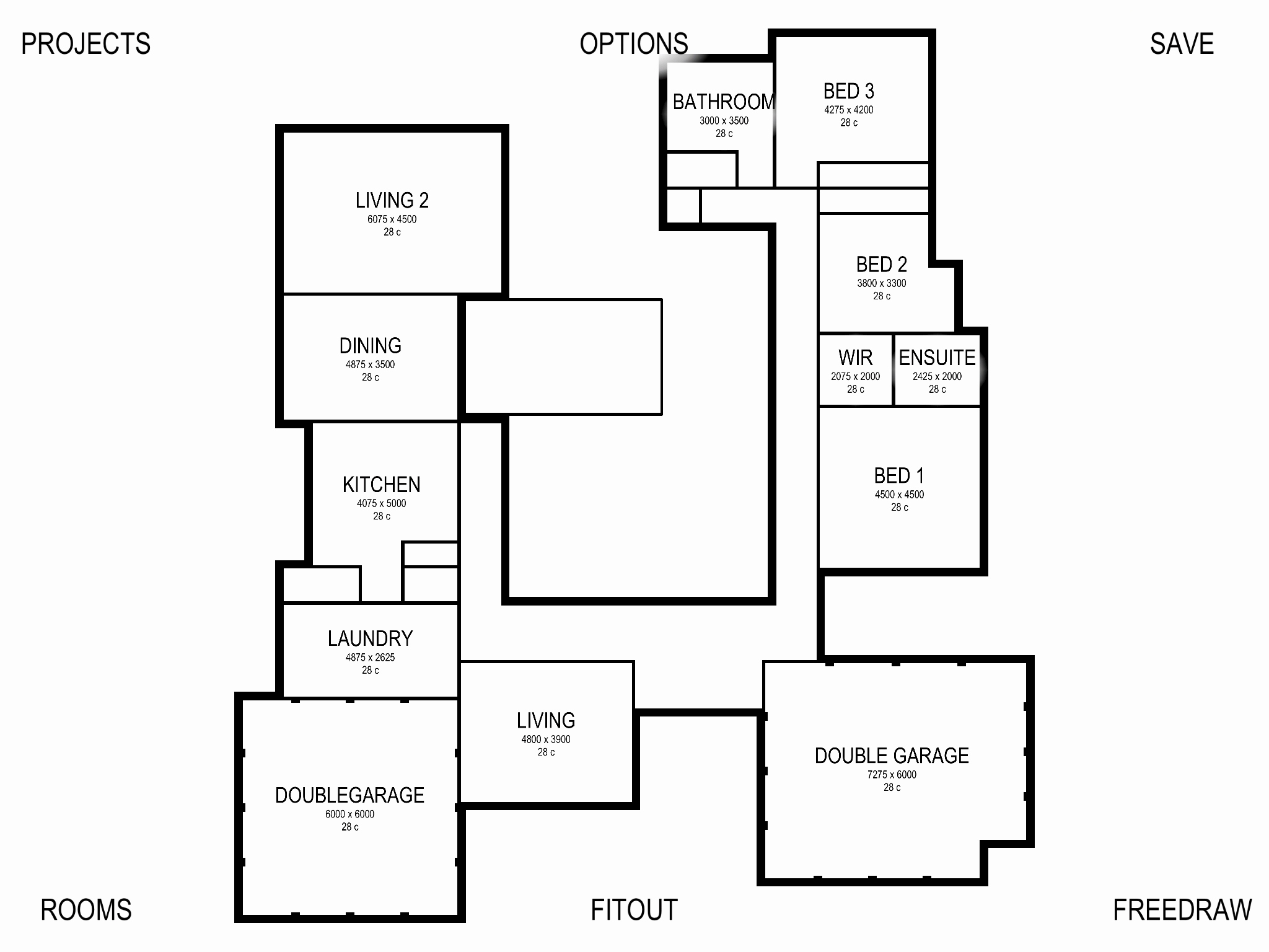 Floor plan drawing at free for personal - Floor plan drawing apps ...