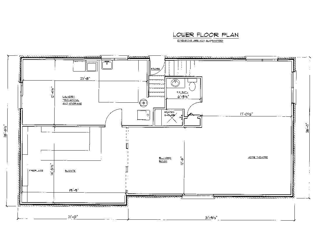 Floor plan drawing at free for personal for Who draws house plans