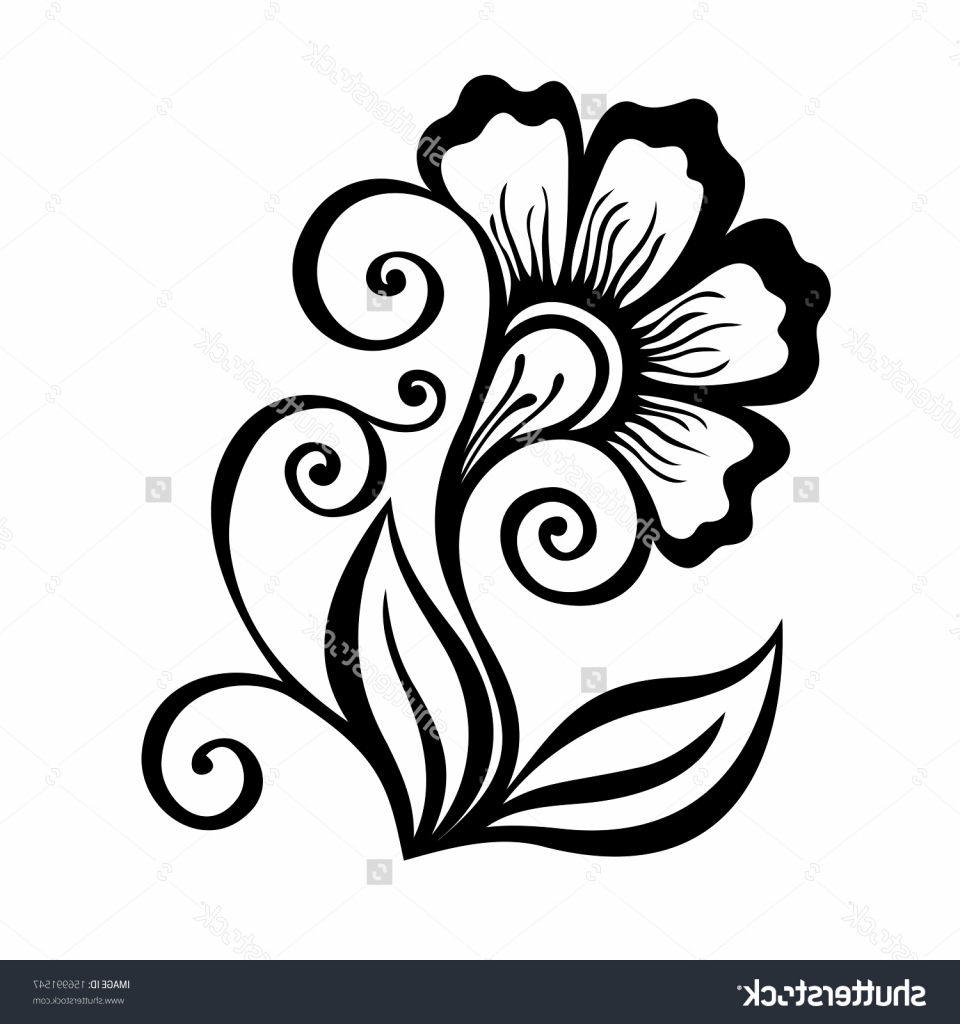 960x1024 Simple Flower Designs For Pencil Drawing Pencil Sketch Of Flower