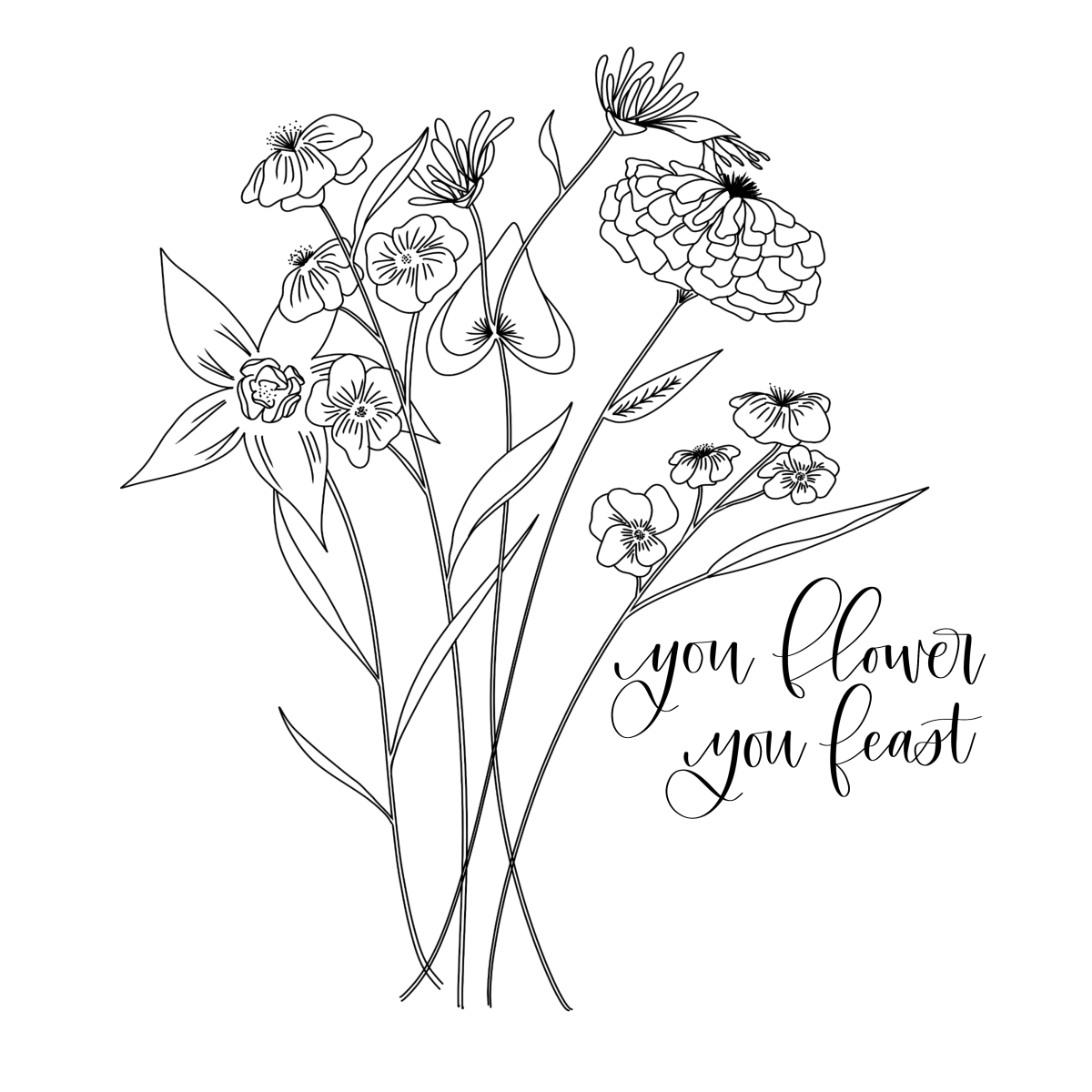 1200x1200 Fresh Start Harry Styles Wallpaper, Floral Drawing And Doodles