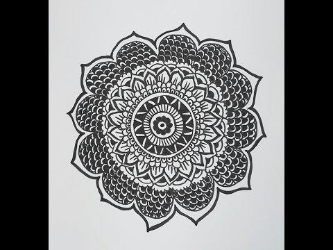 480x360 How To Draw A Mandala Design