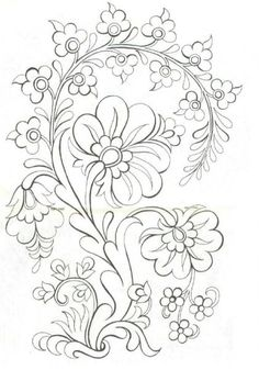 236x337 Coloring Pages Flower Drawing Designs Vine Tattoos Tattoo