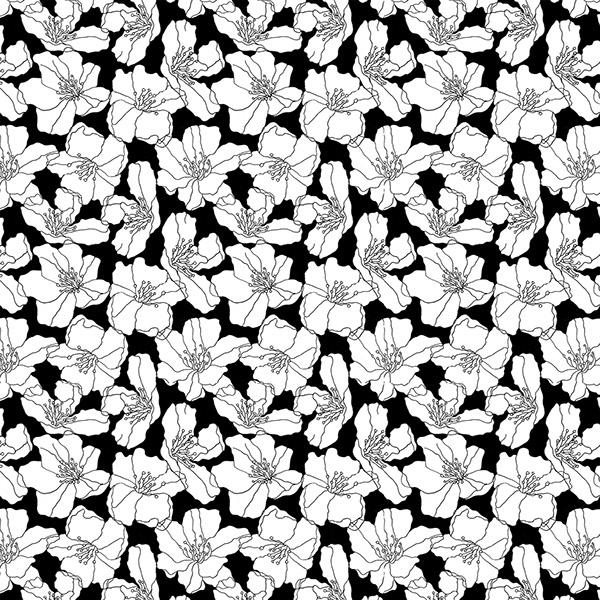 600x600 Floral Print On Behance