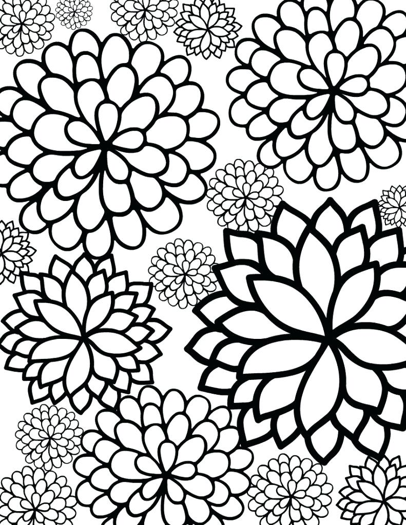 791x1024 Coloring Pages ~ Flower Coloring Pages Printable Lotus With Leaf