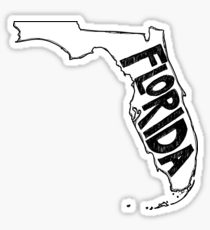 210x230 Florida Drawing Stickers Redbubble