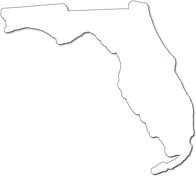 768x689 Florida Fancy Frame Style Maps In 30 Styles