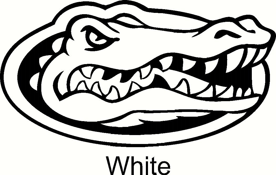 1050x666 Florida Gators Logo Car Window Vinyl Decal Sticker 6