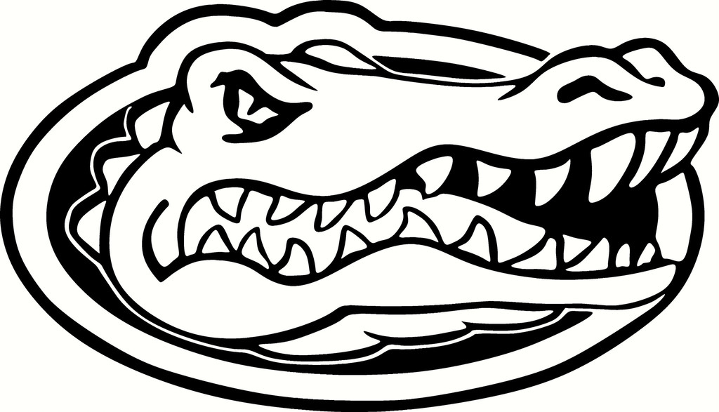 1024x587 Florida Gators Logo Vinyl Cut Out Decal