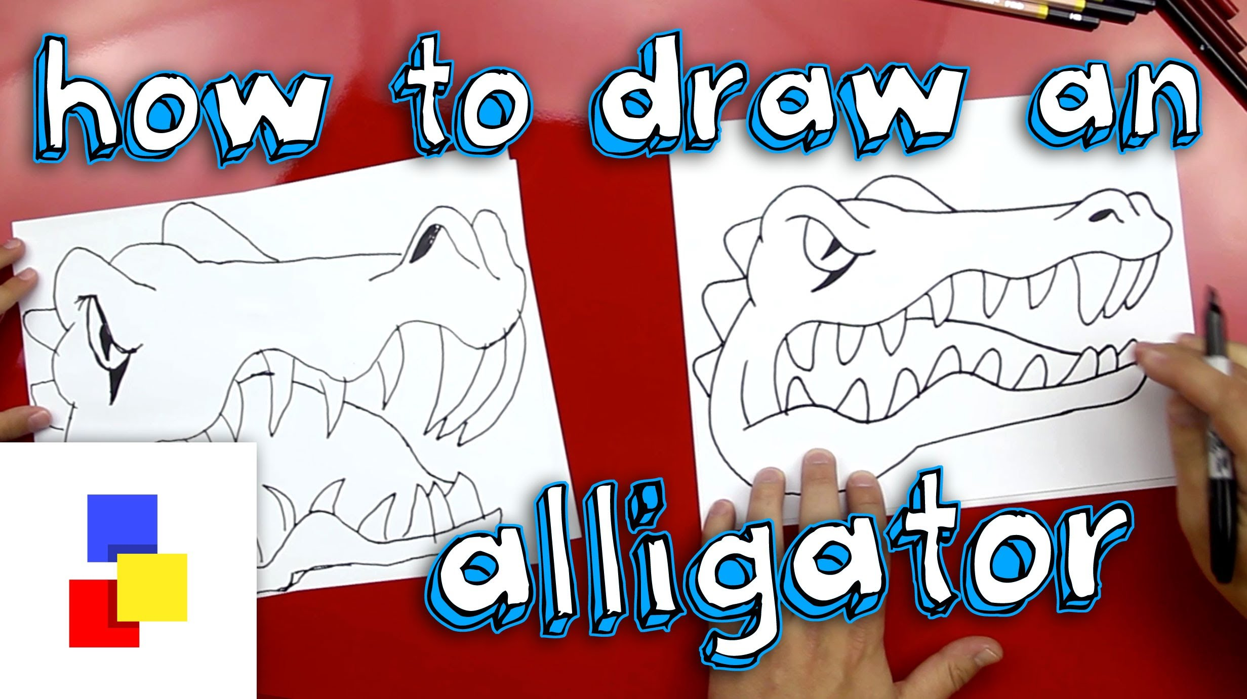 2463x1381 How To Draw An Alligator (Florida Gators Mascot)