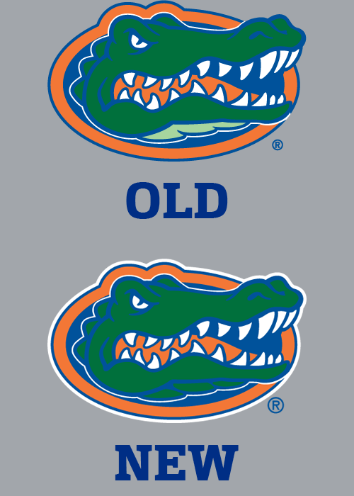 500x700 Minor Change To Florida Gators Logo