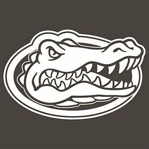 300x300 University Of Florida Gators Gator Head Decals Many Colors