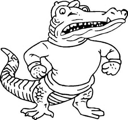 450x422 Florida Gator Coloring Pages Coloring Page For Kids