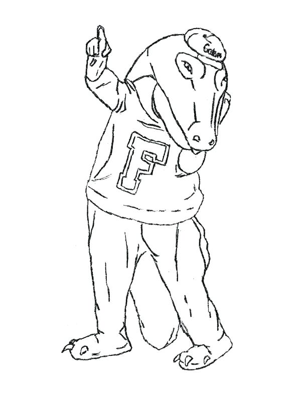 600x800 Florida Gators Coloring Pages Synthesis.site