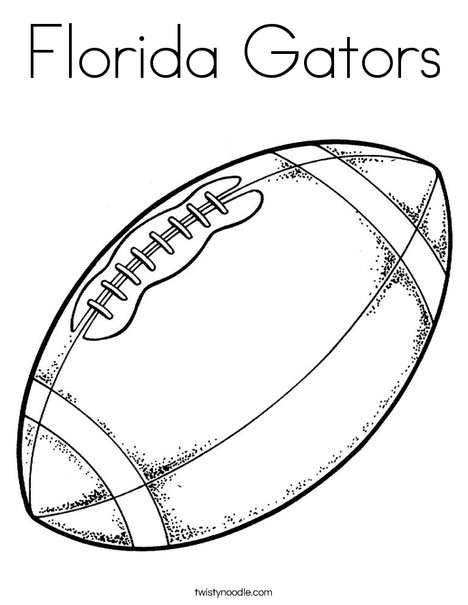 468x605 Florida Gators Coloring Page