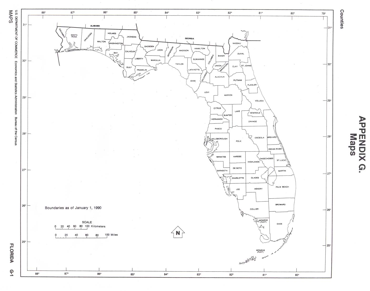 1554x1222 Florida Outline Maps And Map Links