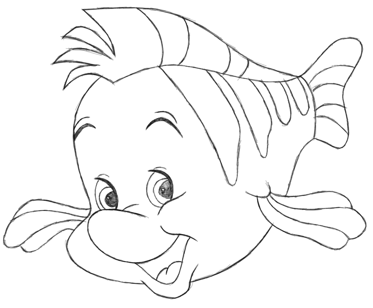 1306x1080 Flounder By Stephietee