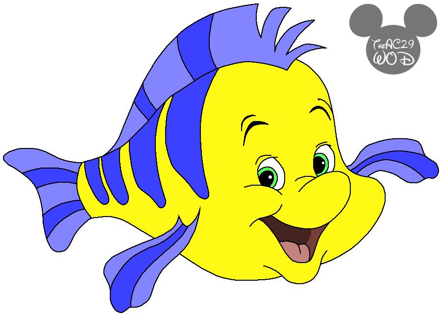 900x645 Flounder (Disney's The Little Mermaid) By Raptoruos Knight