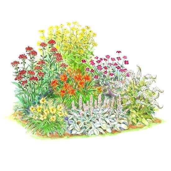 550x550 Flower Garden Planner Free Flower Bed Designs Free Virtual Flower