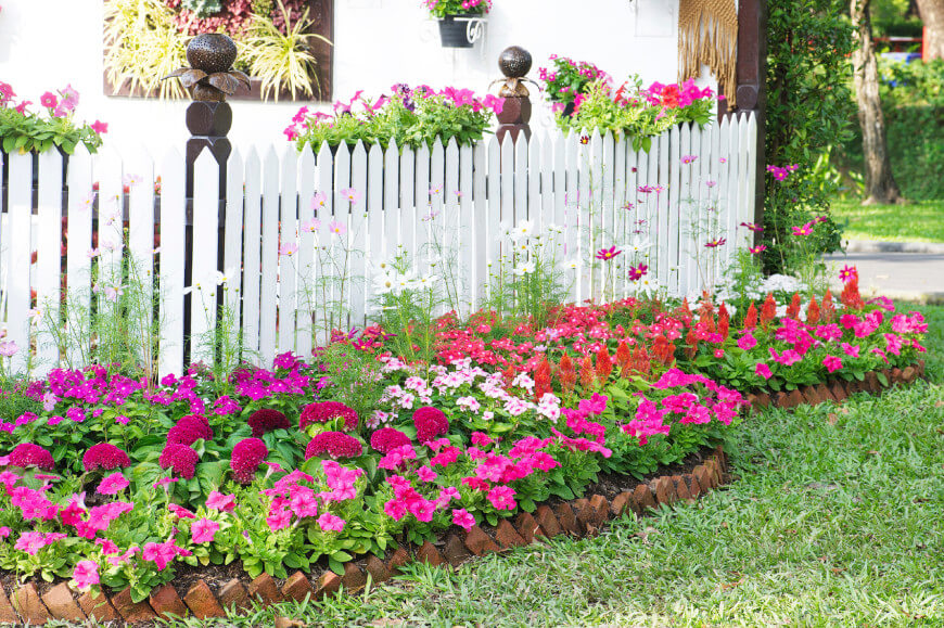 870x579 25 Magical Flower Bed Ideas And Designs