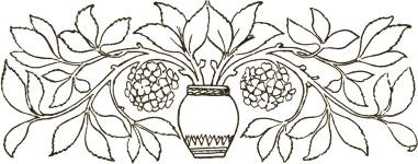 381x150 Floral Bouquet Border Image