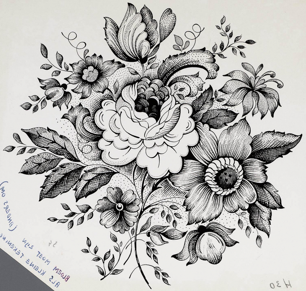 Flower bouquet drawing at getdrawings free for personal use 1024x973 flower with bokeh pencil drawing flower bokeh drawing in pencil izmirmasajfo