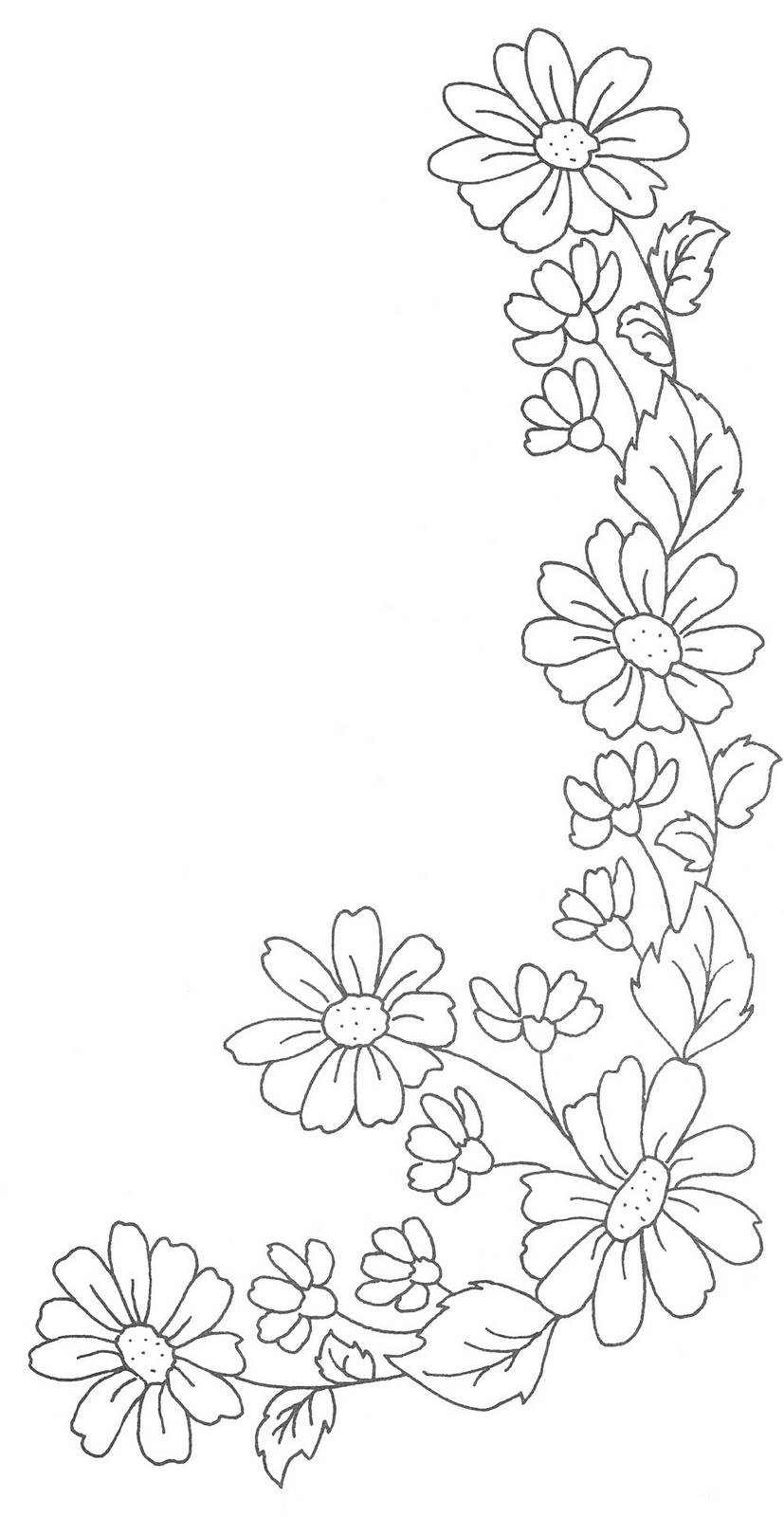 827x1600 Daisy Chain Daisy Chain, Patterns And Embroidery