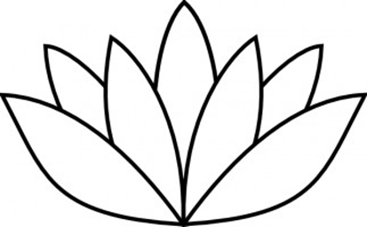 1199x743 Lotus Flower Drawing Jpg Image Lotus Flower Line Drawing Free