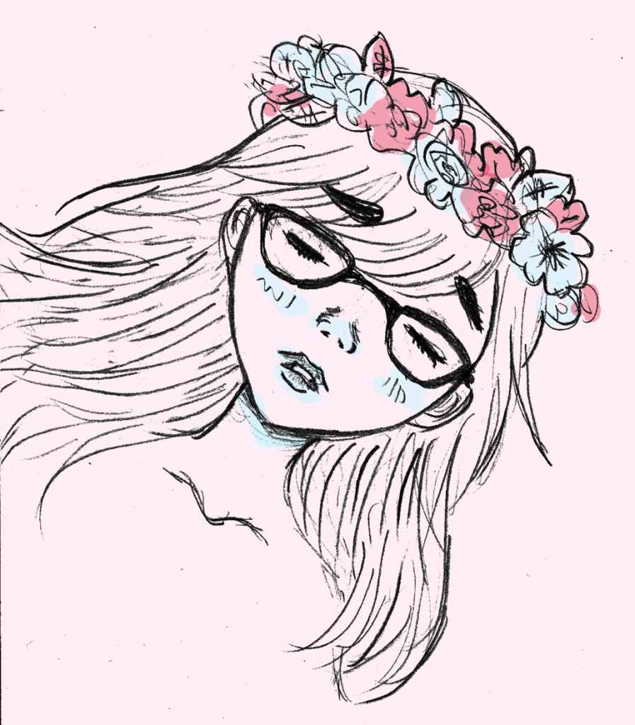 Flower crown drawing at getdrawings free for personal use 897x1024 crown drawing tumblr tumblr with flower crown drawings flower izmirmasajfo