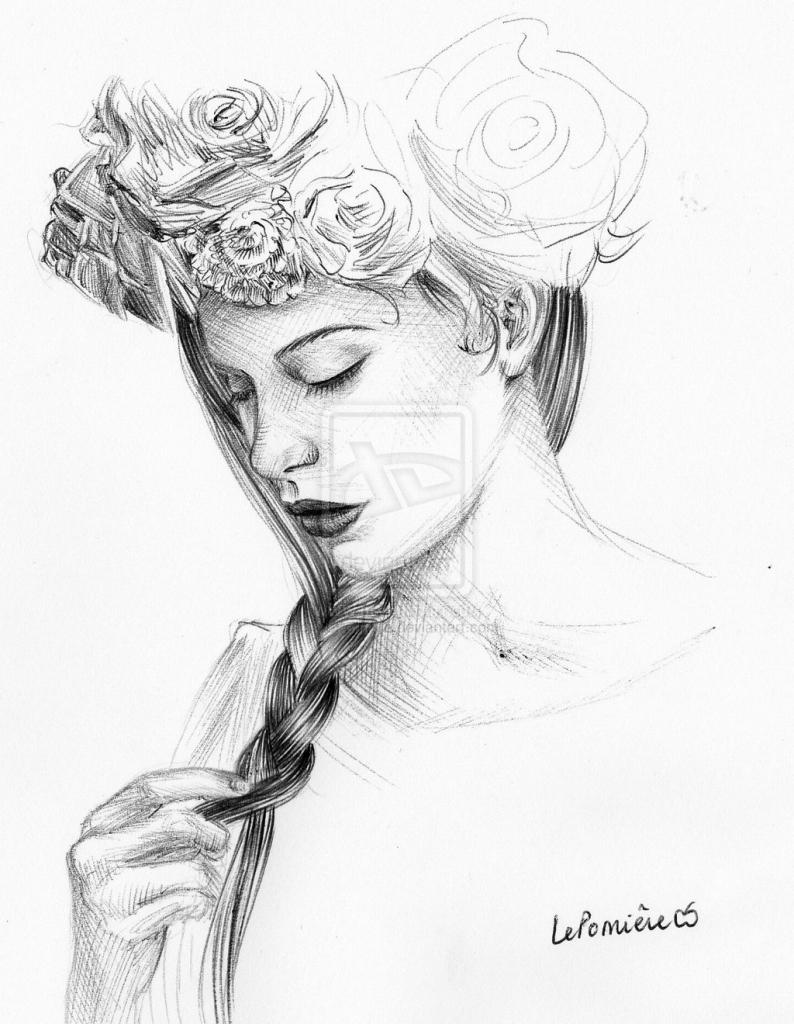 Flower crown drawing tutorial at getdrawings free for personal flower crown drawing tumblr izmirmasajfo