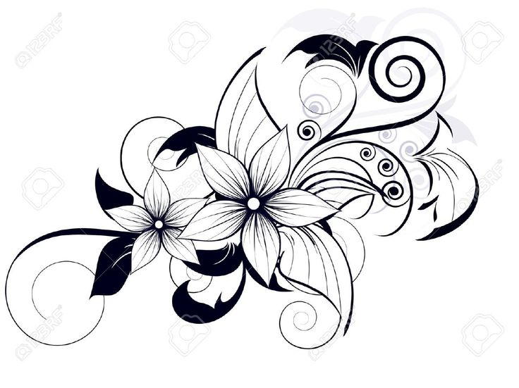 736x551 Best 25 Flower Design Drawing Ideas On Draw Flowers, How To Draw