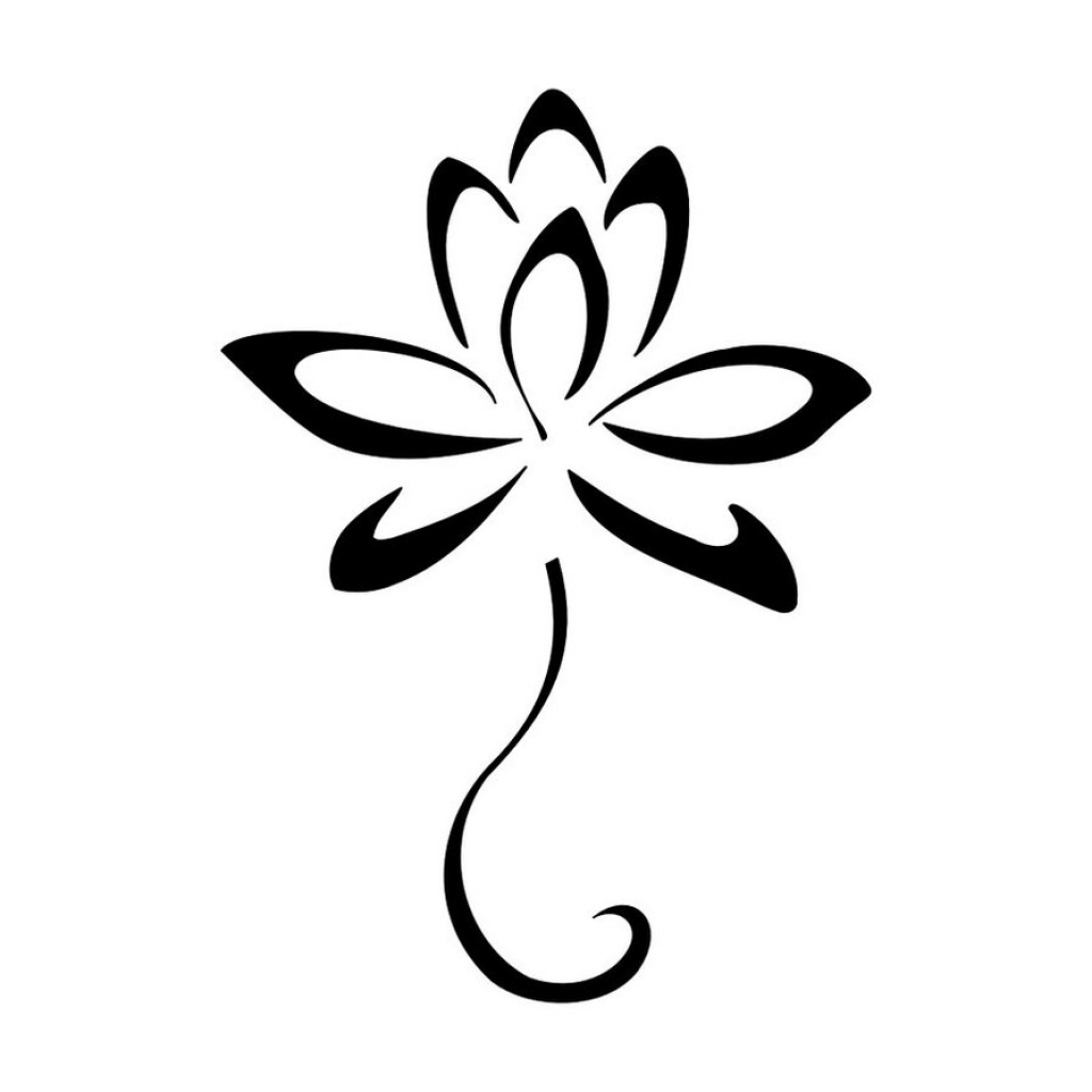 1024x1024 Small Flower Drawings Simple Flower Design Clipart Best