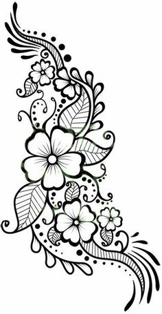 236x455 Cool And Easy Flowers To Draw Simple Flower Designs