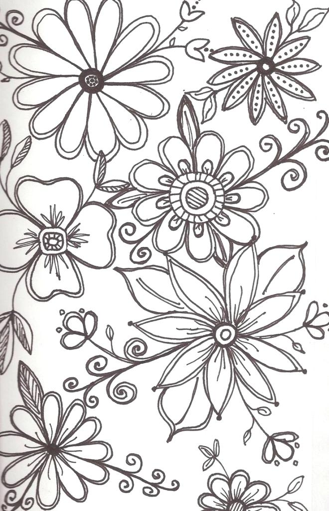 660x1024 Designs To Draw Cute Flower Designs To Draw Ideas About Flower